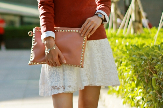 Preppy In Lace