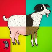 Nosy Crow - Animal SnApp: Farm