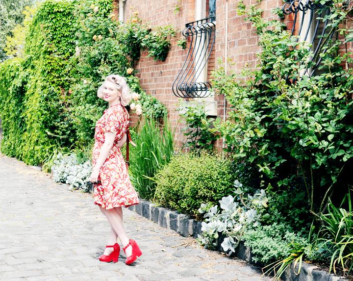 red floral laneway pic e