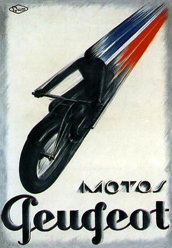 1920's Peugeot Motorcycles by bullittmcqueen