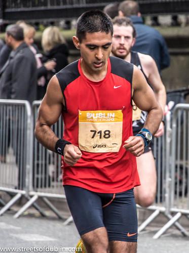 Dublin Marathon 2012 (Ireland) Runner No.718 by infomatique