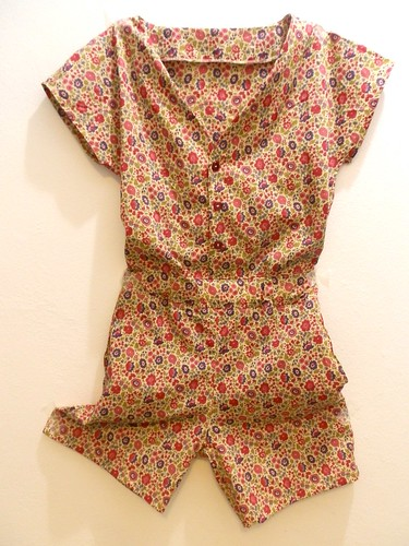 Salme Playsuit in Liberty