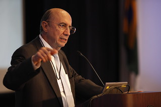 Henrique Meirelles visited Brandeis IBS