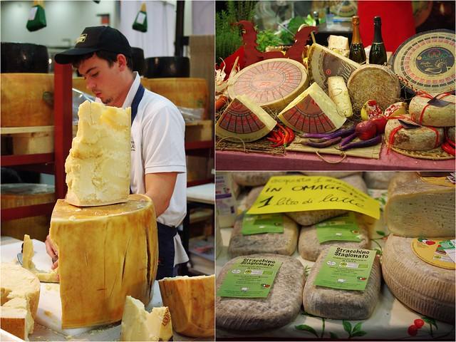 Parmigiano et fromages du Nord