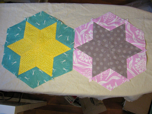 Oct bee blocks