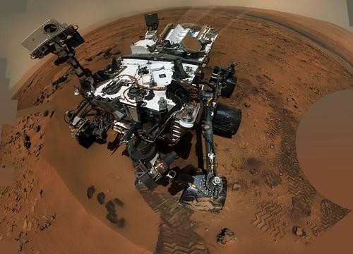 Curiosity sol 84 MAHLI self - portrait 9332 x 6728