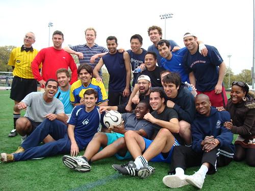 Image of the Brandeis IBS Football team