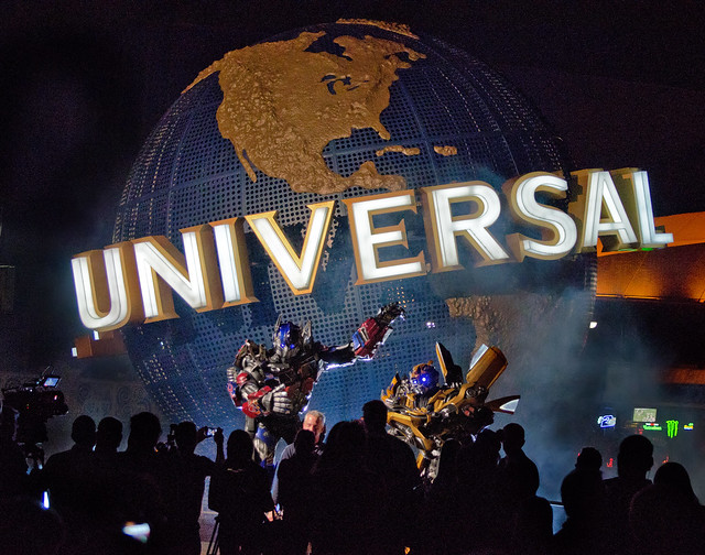 Transformer Announcement at Universal 11/1/12