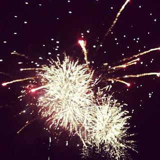 Vale Fireworks last night.