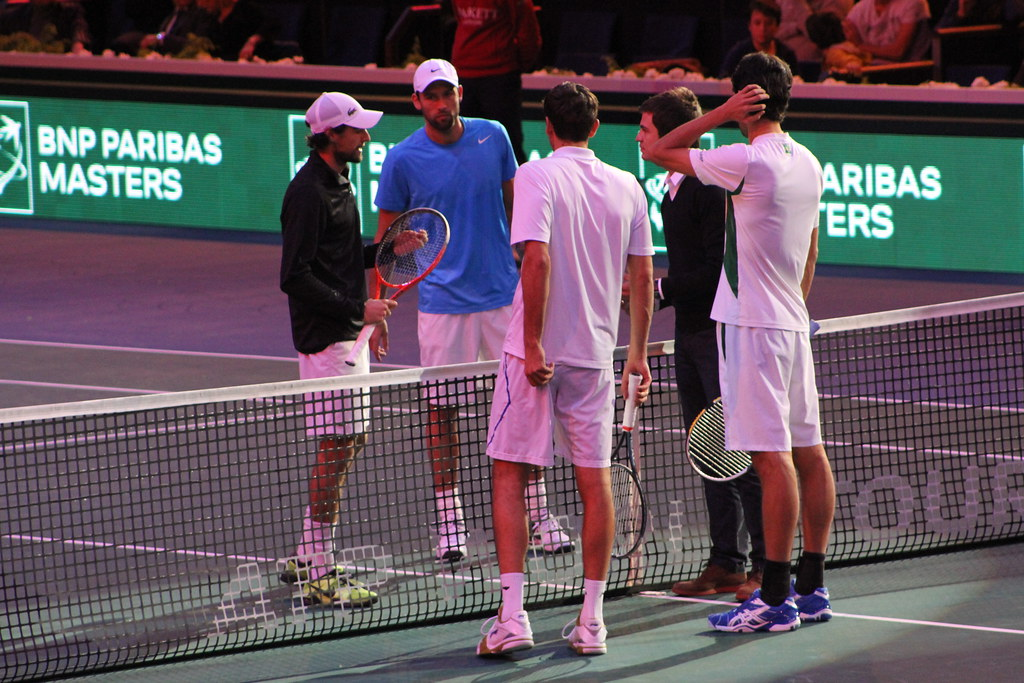 Chardy, Kubot, Cilic and Melo