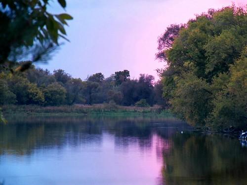 sunset twilight grandriver