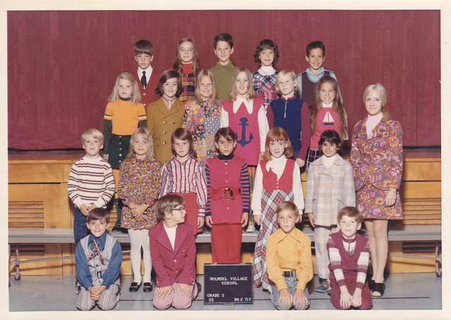Village School (Holmdel, New Jersey) Class Picture (3rd Grade - 1972-1973)