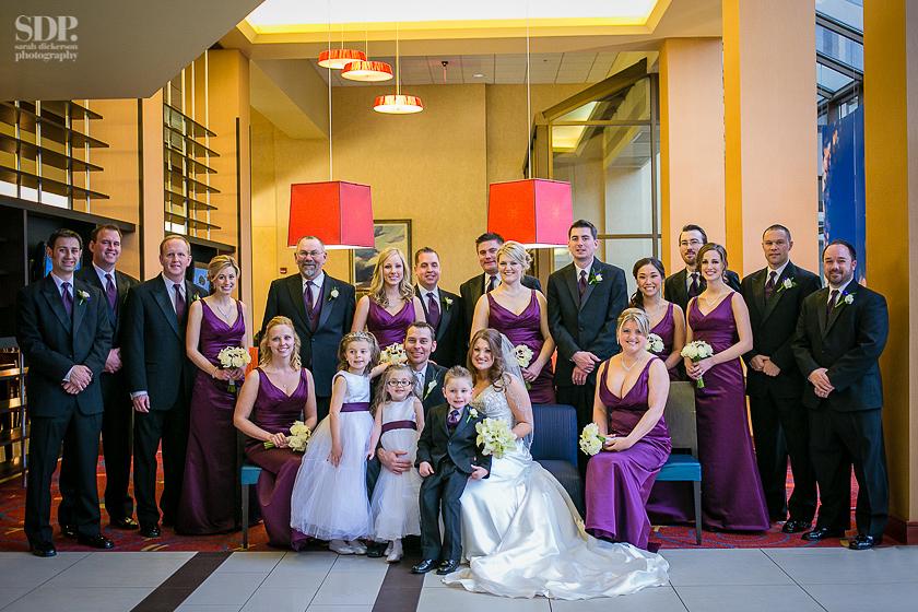 Wedding photos Overland Park Marriott