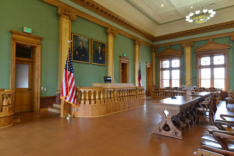 Coweta County Historic Court Room