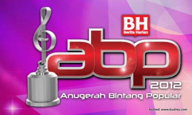 Senarai Pencalonan Finalis Top 5 Anugerah Bintang Popular 2012