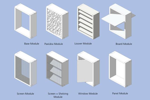 estante modular biblioteca