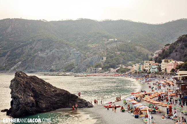 Monterosso al Mare Beach Cinque Terre Liguria Italy | Travel Photography