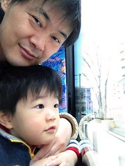 ハチ公バスに乗ってます 2013/1/12