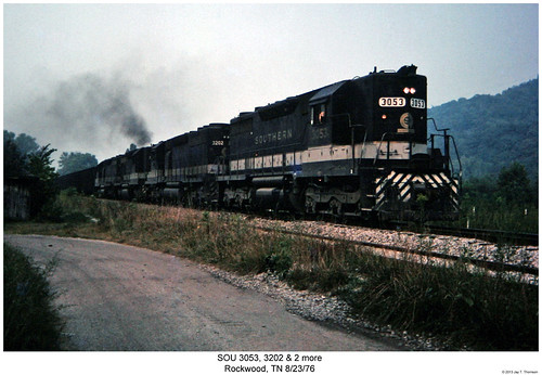 railroad train diesel tennessee railway trains southern locomotive trainengine sr sou rockwood emd sd402 sd40 sixaxle sd35