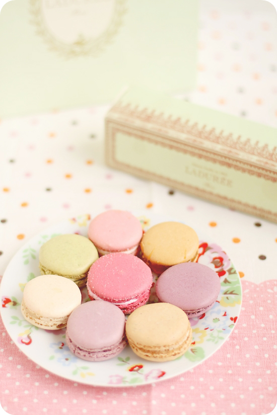 Macarons from Ladurée, Paris