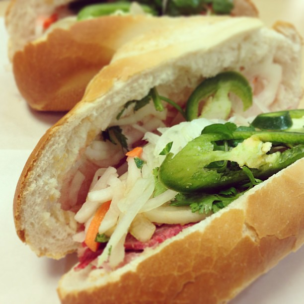 Bahn Mi. One of my favorite sandwiches.