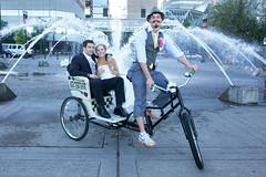 Portland Wedding Pedicabs