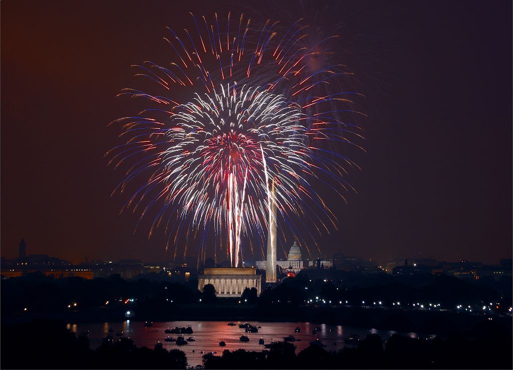 Fourth of July fireworks photo