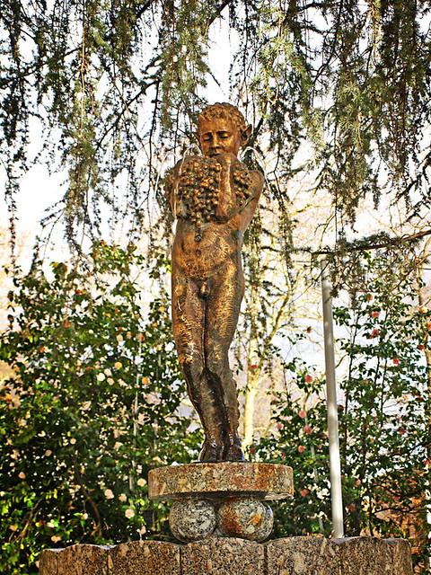 Pan Statue, Guimaraes, Portugal