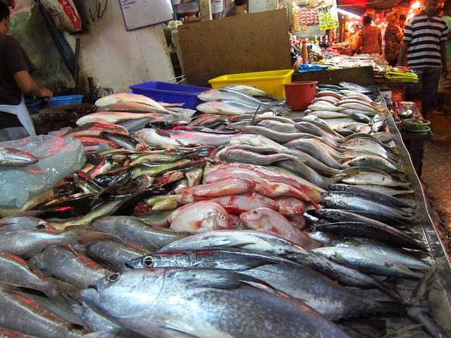 Wet Market - Chow Kit Market, Kuala Lumpur