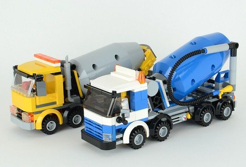 Review: 60018 Cement Mixer | Brickset: LEGO set guide and database