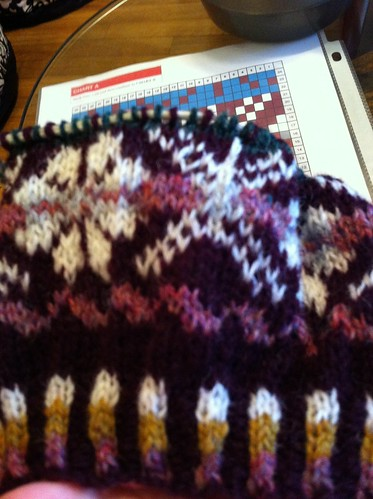 Guernsey Potato Peel Hat chart A almost done. by BlueDragon2