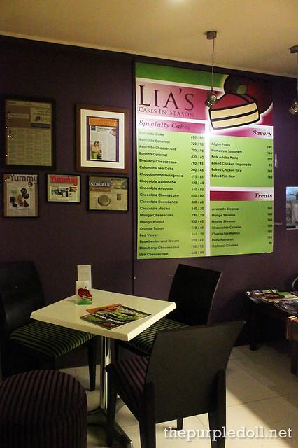 Lia's Cakes in Season Kapitolyo Pasig
