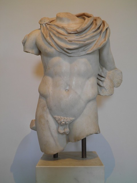 Hermes, Roman copy from the 1st century AD after a Greek original from the second half of the 5th century BC, from the area of the Domus Augustana, Palatine Hill, Palatine Museum, Rome