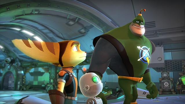 Ratchet & Clank QForce - Screenshot 1