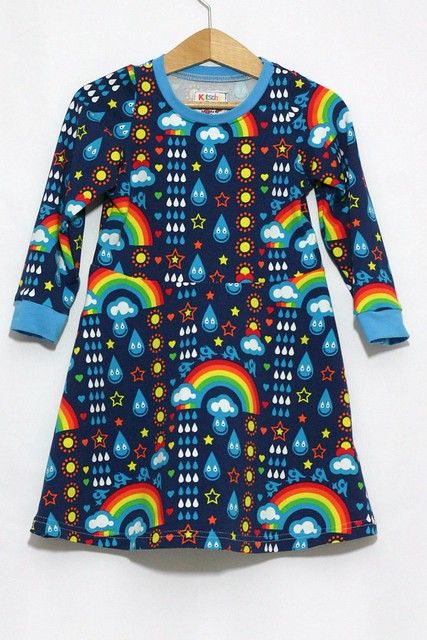Rainbowphant skater dress