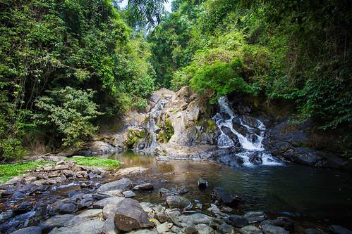 khao sok waterfall photo
