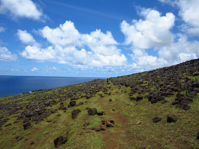 Views from the North Coast of Rapa Nui