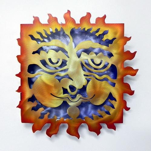 """Sun Face"" by Don Drumm at Smith Galleries by Smith Galleries"