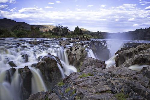 landscapes namibia kaokoland kuneneregion epupawaterfall