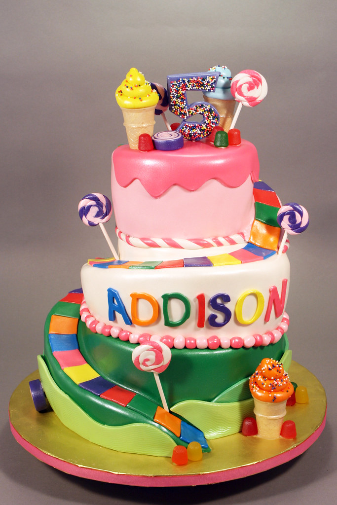 Candyland Birthday Cakes Pictures