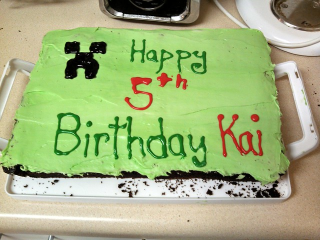 Kai's Cake (actual day of)