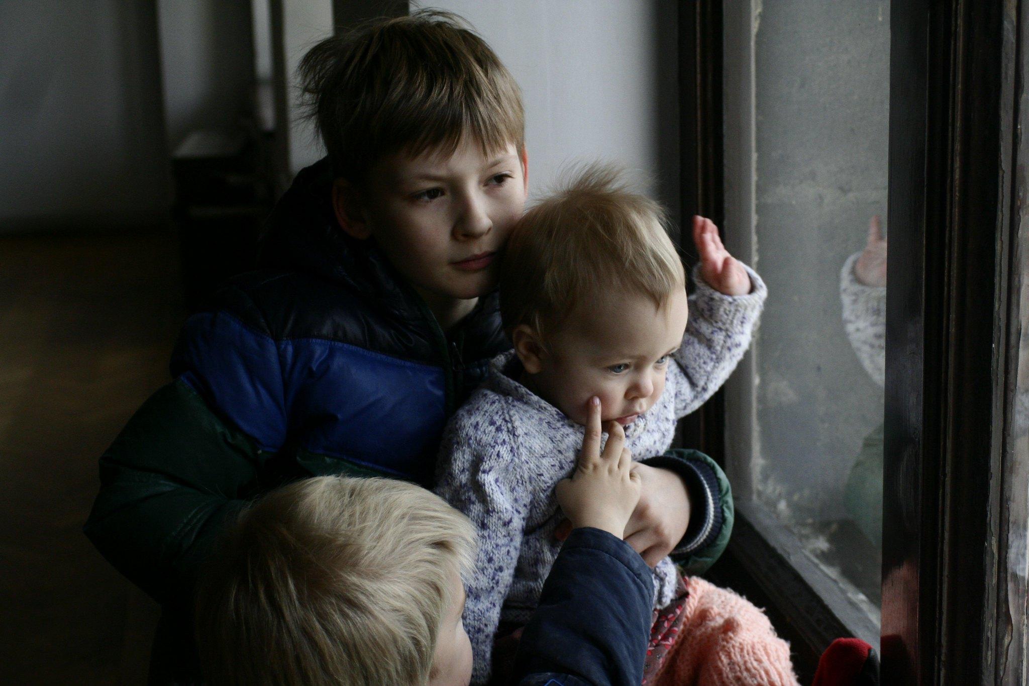 Matti, Anton and Neve