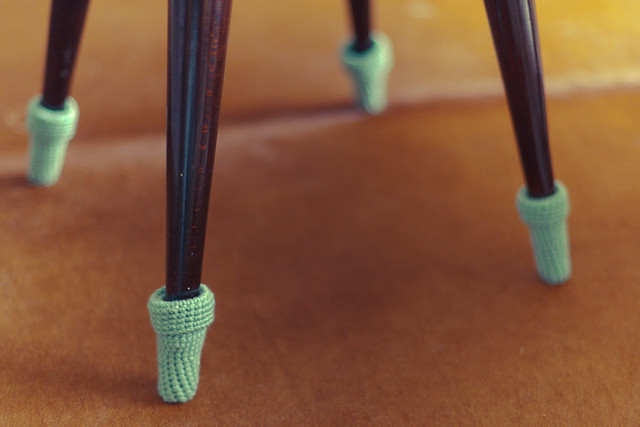 chaussette pour chaise pieds crayon
