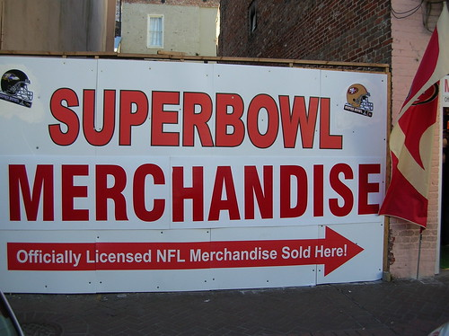 SUPERBOWL MERCHANDISE