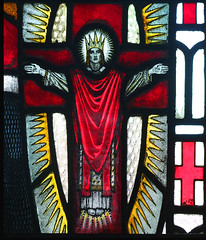 Christ Crucified on St George's shield (Karl Parsons, 1920)