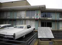 The Spot where Martain Luther King Jr. Was Shot