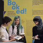 Discovering new books at the Borders Booked! Festival | © Phil Wilkinson