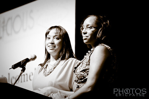 Blogalicious Founders Justice Ny and Justice Fergie