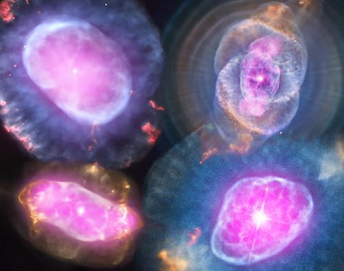 A Planetary Nebula Gallery (NASA, Chandra, 10/10/12)