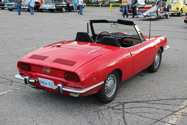1969 Fiat 850 Spider http://www.flickr.com/photos/carphotosbyrichard/8080792690/